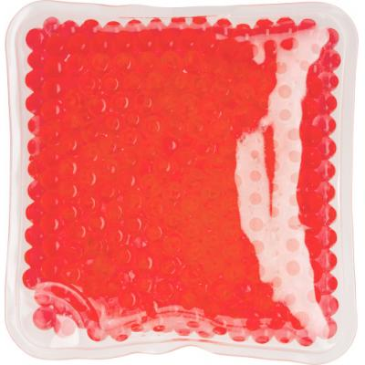 Image of Square shaped plastic hot/cold pack